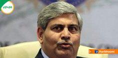 आखिरकार भारतीय क्रिकेट कंट्रोल बोर्ड (बीसीसीआई) के सचिव अनुराग ठाकुर ने स्पष्ट संकेत दे दिया है कि BCCI का अध्यक्ष कौन बनने वाला है... http://www.haribhoomi.com/news/sports/off-the-filed/bcci-president-shashank-manohar/31584.html #Haribhoomi #BCCI #President