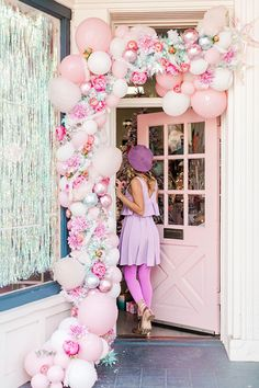 pink candyland christmas party on LaurenConrad.com
