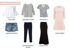 how to pack light for vacation travel outfits