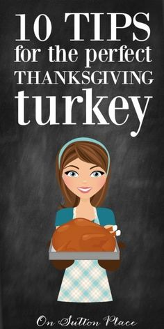 10 Tips for the Perfect Roast Turkey | A self-taught cook shares what she's learned! | Simple advice for seasoned cooks and beginners alike. Great list to make the job easier! #Sponsored