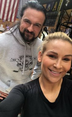 Natalya & Drew Melntyre Drew Galloway, Theodore James, Dolph Ziggler, Wwe Female Wrestlers, Wwe World, Drew Mcintyre, Wwe Champions, Wrestling Divas, Wwe Womens