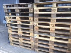Zustand: 2.Wahl, Palette können gebraucht sein. (siehe Bilder)Paletten sind trocken, es ist helles und dunkles Holz gemischt.Die Maße:…