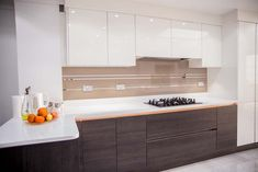 Antelope Mirror Stripes Kitchen Splashback. Mirror Stripes Design Exclusively by CreoGlass Design is another beautiful concept of CreoGlass Designs Contemporary Kitchen Glass Backsplash Collection, that is not only practical but adds the high speck feel to your new kitchen.