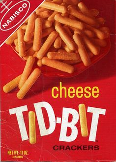 Tid-Bit I don't recall being served many snacks as a kid. I do remember having these just a couple of times Retro Recipes, Vintage Recipes, Childhood Toys, Childhood Memories, 70s Food, Retro Food, Vintage Food, Vintage Ads, Food Food