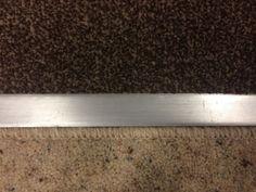 Door Plates / Thresholds Luxury Polished / Satin Chrome Effect Dual Grip