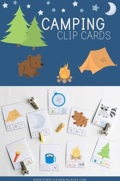 Free Camping Clip Cards!