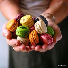 » Optimiser la réussite des macarons, retour aux fondamentaux … - La cuisine de Mercotte :: Macarons, Verrines, … et chocolat