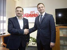 Piotr Duda i Andrzej Duda (fot. MIchal Fludra / Newspix.pl)