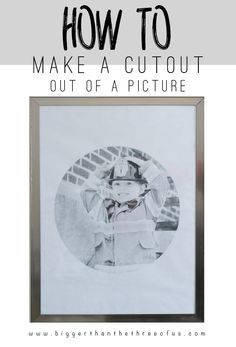 Photoshop Tutorial for Cutting out an Image in a shape. It's easy and such a cute way to display a photo in a unique way.