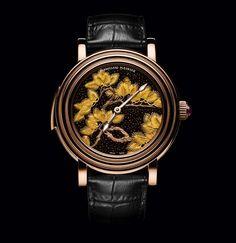 Tarcze zegarków odzwierciedlają harmonię Zen, ale ich mechanizmy pokazują coś zupełnie innego