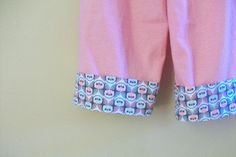 cuffed pj pants for K by imaginegnats, via Flickr