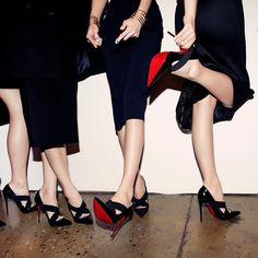 Starting New York Fashion Week on the right foot: Christian Louboutin's sky high pumps and #BeauteLouboutin manicures walked the runway for @cushnieetochs Fall/Winter 2015. #MadeFW
