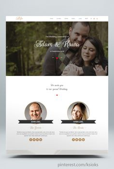 13 Best Html Wedding Website Templates