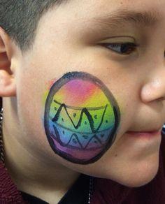 Eye-la's Facepainting Rainbow Easter Egg