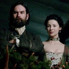 "Duncan  LaCroix and Caitriona Balfe in Outlander on Starz | Episode 104 ""The Gathering"" via http://www.springfieldspringfield.co.uk/view-screencaps.php?tv-show=outlander-2014&episode=s01e04"