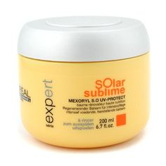 Professionnel Expert Serie - Solar Sublime Mexoryl S.O UV-Protect Balm - L'Oreal - Professionnel - Hair Care - 200ml/6.7oz by L'Oreal Paris *** Want additional info? Click on the image. #hairup