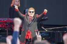 Elton John Talks World Madness At A Day On The Green