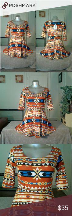 Vibe Tribal Beautiful Designed Dress Dress Dresses Midi