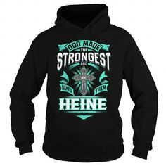 I Love HEINE HEINEYEAR HEINEBIRTHDAY HEINEHOODIE HEINE NAME HEINEHOODIES  TSHIRT FOR YOU Shirts & Tees