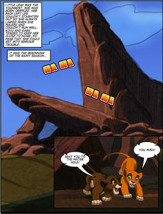Kiara's Reign page 2 by TC-96 on DeviantArt<----you'll have to click on it for the full story or search it on google, it's hard to find the whole thing on Pinterest