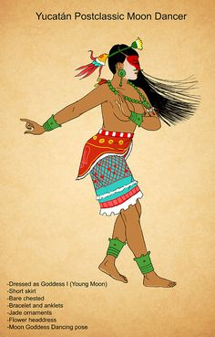 As the title states, Maya women hairstyles of the Classic period. Organized it by region. The vast majority you will notice, have no place specified. Ancient Aztecs, Aztec Culture, Aztec Warrior, Indigenous Tribes, Aztec Art, Mesoamerican, Moon Goddess, Mexican Art, Native American Art