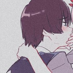 Anime Darling in the franxx . Anime Couples Drawings, Anime Couples Manga, Anime Guys, Hipster Drawings, Couple Drawings, Avatar, Cute Anime Coupes, Matching Profile Pictures, Ange Demon