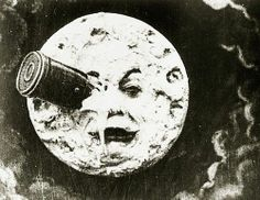 Film still from A Trip to the Moon (Le Voyage dans la lune) by Georges M茅li猫s, 1902. HUGO CABRET!
