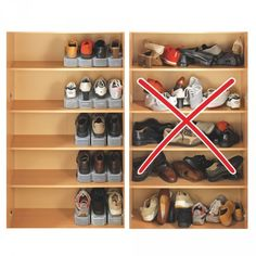 idee rangement placard chaussures. Black Bedroom Furniture Sets. Home Design Ideas