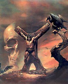 Conan Crucificado