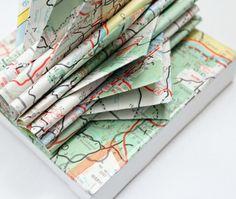 Oregon Map Art Mini Sculpture by yinsteadofi on Etsy, $17.00