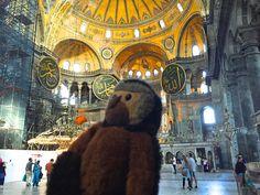 Apen matkat: Turkki osa 2, Istanbulin paras nähtävyys Hagia Sofia
