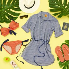 Sun ✔️ Sand ✔️ Style ✔️ Who's ready for a spring getaway? #JoeFresh #Travel