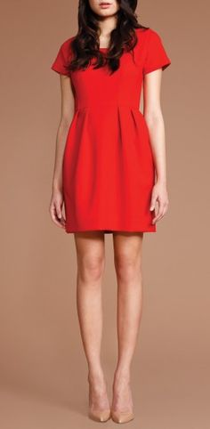 Double Crepe Phoebe Dress