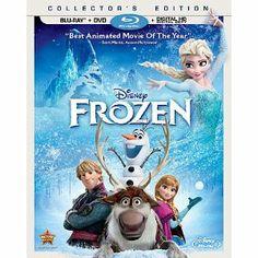 Frozen DVD / Blu Ray