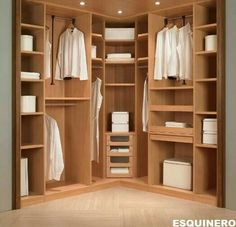 Looking for some fresh ideas to remodel your closet? Visit our gallery of leading best walk in closet design ideas and pictures. Walk In Closet Small, Walk In Closet Design, Bedroom Closet Design, Small Closets, Bedroom Wardrobe, Wardrobe Design, Wardrobe Closet, Master Bedroom Closet, Closet Designs