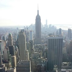 Mind-blowing Manhattan from Top of the Rock at Rockefeller Center in New York, USA