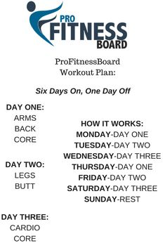 Try this workout plan for 6 weeks. Up your reps and/or weights every 2 weeks. Get. In. Shape.