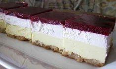 Toto je rýchly recept na fantastický dezert podľa portálu bucatarianoastra. Uvedené množstvá prísad sú vhodné pre formu s rozmermi 35 × 20 cm. Bakery Recipes, Dessert Recipes, Cooking Recipes, Desserts, Torte Recepti, Kolaci I Torte, Posne Torte, Torte Cake, Croatian Recipes