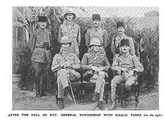 Townshend, Khalil Pasha after Fall of Kut