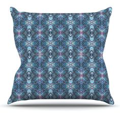 Native Pattern by Danii Pollehn Throw Pillow