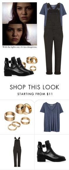 """""""Davina Claire 3x15 - the originals"""" by shadyannon ❤ liked on Polyvore featuring Apt. 9, H&M, Topshop and MANGO"""