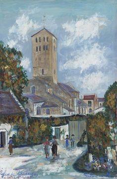 Maurice Utrillo, Eglise de Chapaizes--Saône-et-Loire