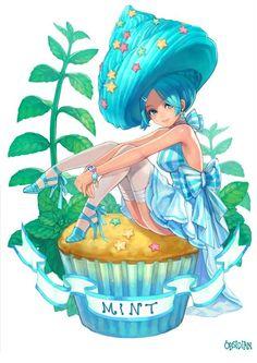 Expression and pose Anime Chibi, Kawaii Anime, Kawaii Chibi, Kawaii Art, Character Art, Character Design, Chibi Food, Cute Food Drawings, Anime Version