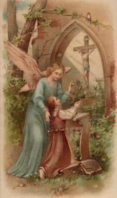 Sermon on the Feast of the Holy Guardian Angels, Coloring Pages, Handwriting practice and more!