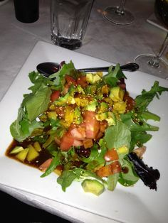 Green Salad at Butterfly Sushi