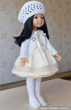 Доброго дня любители играть в куклы! Мы с ЮрИ, куколкой Лиу от Паола Рейна заскочили угостить вас сливочной вкусностью. На
