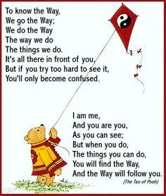 Tell it, Pooh Bear.