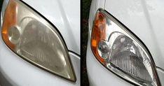 HOGAR Y JARDIN: Cómo eliminar el amarillo de los faros del coche en 10 minutos