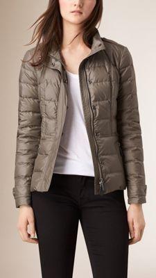 Burberry Showerproof Puffer Jacket - Shop for women's Jacket Ski Fashion, Funky Fashion, Luxury Fashion, Coats For Women, Jackets For Women, Pijamas Women, Jacket Images, Burberry Jacket, Quilted Jacket