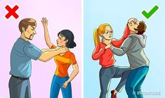 14 Self-Defense Tips That Might Save Your Life Survival Life Hacks, Survival Tips, Survival Skills, Self Defense Moves, Self Defense Martial Arts, Martial Arts Techniques, Self Defense Techniques, Self Defence, Disaster Preparedness